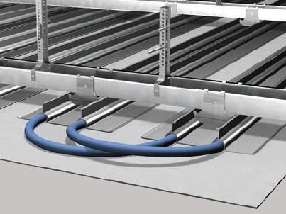 Die B+M GP-Cool Speed Klimadecken arbeiten mit Strahlungsenergie und bieten somit ein Heiz- und Kühlsystem ganz ohne Feuchtigkeitsentzug und Durchzugseffekt. Dieses System ist unser Favorit!