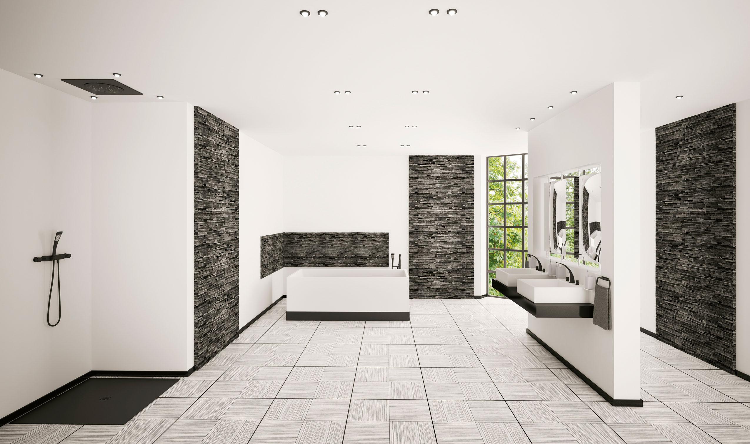 Badezimmer-Fussbodenheizung-Vadim Andrushchenko-Fotolia