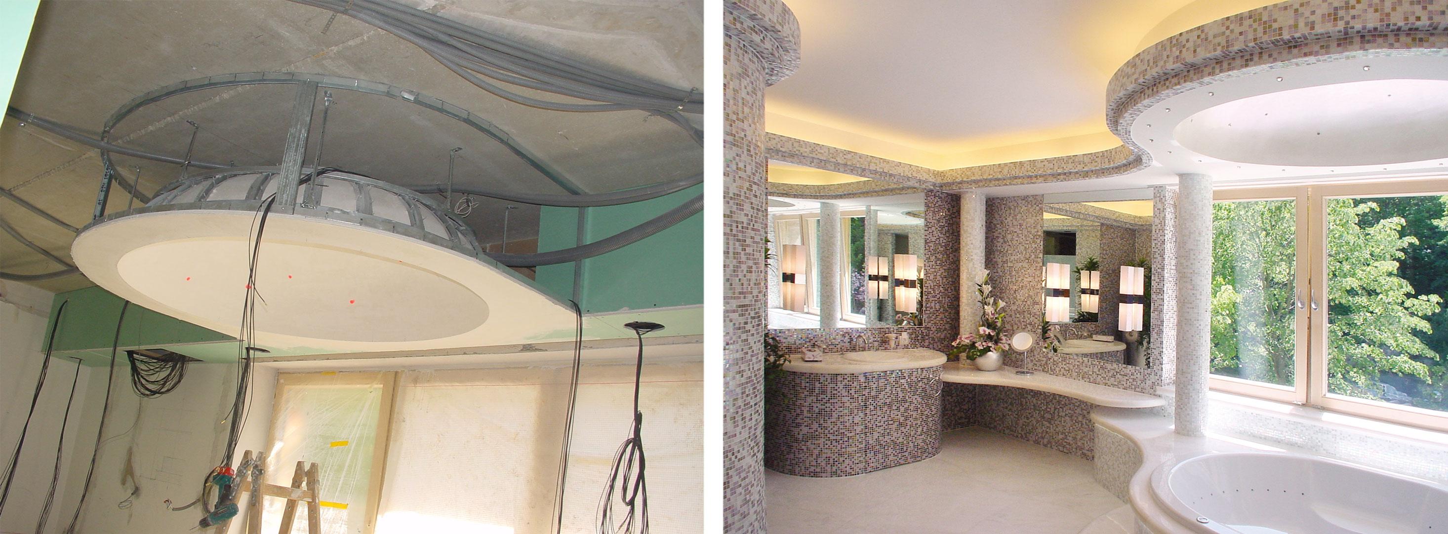 Badezimmer-Trockenbauverkleidung-Weissmann