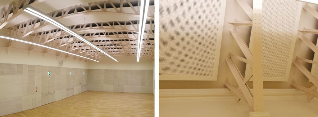 Turnhalle-Uni-Wien-Trockenbauverkleidungen-Weissmann
